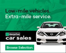 Low mile vehicles, extra mile service img